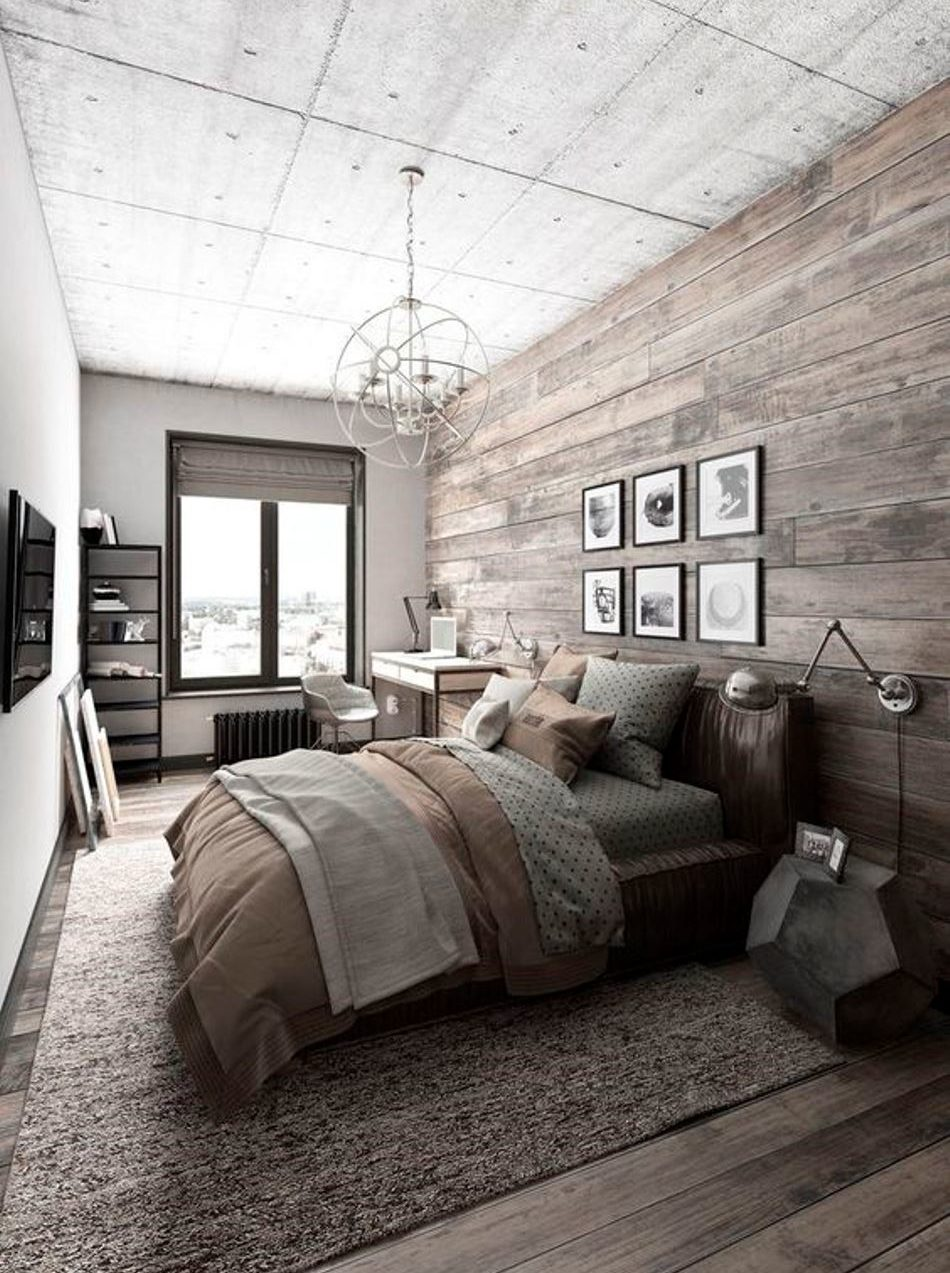Minimalism - colour, feature wall, focal points