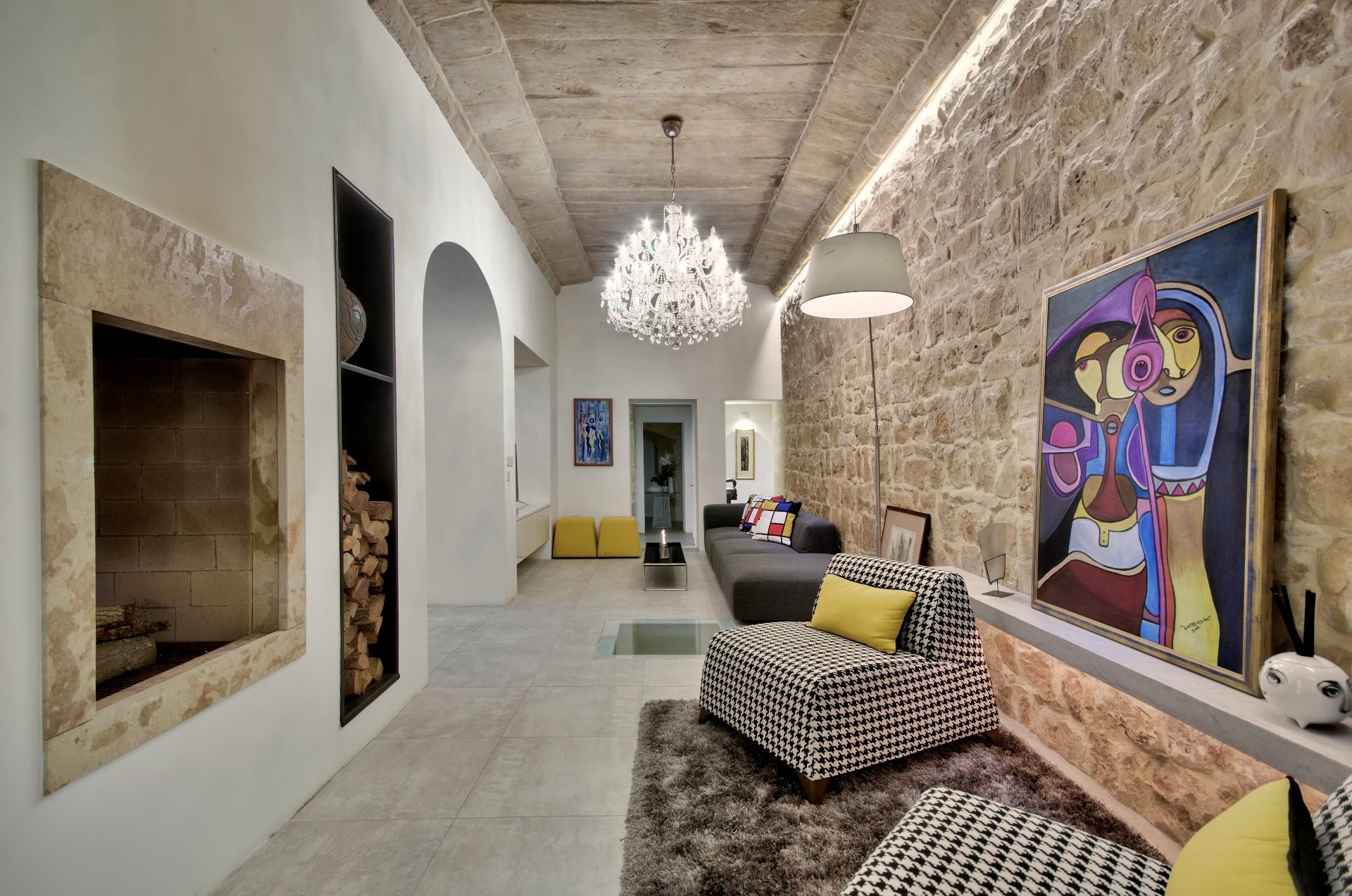 Living Space – Old and New Concept