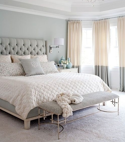 Luxury Bedroom - pillows, throws, duvets, bedspreads