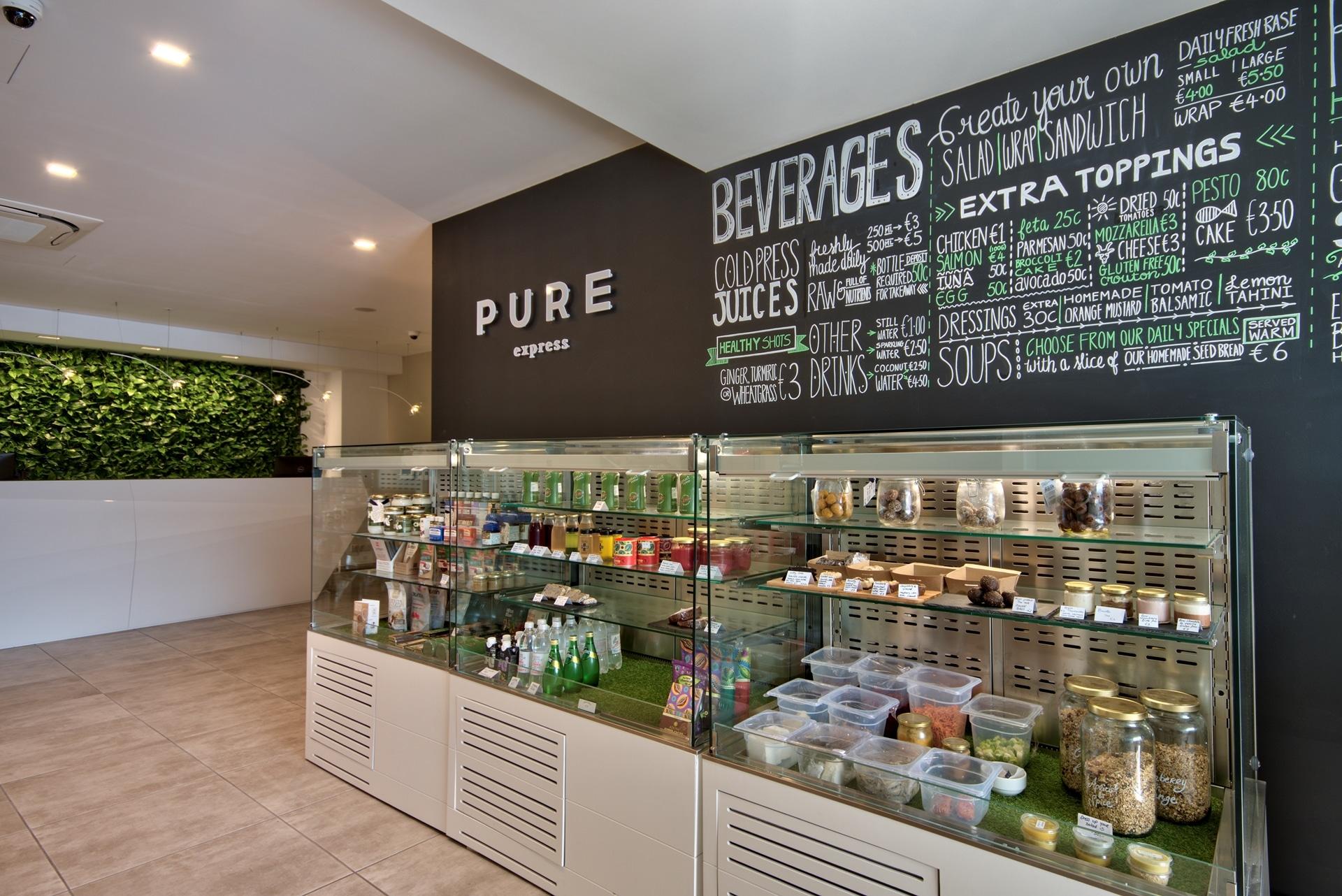 Juice Bar – counter space