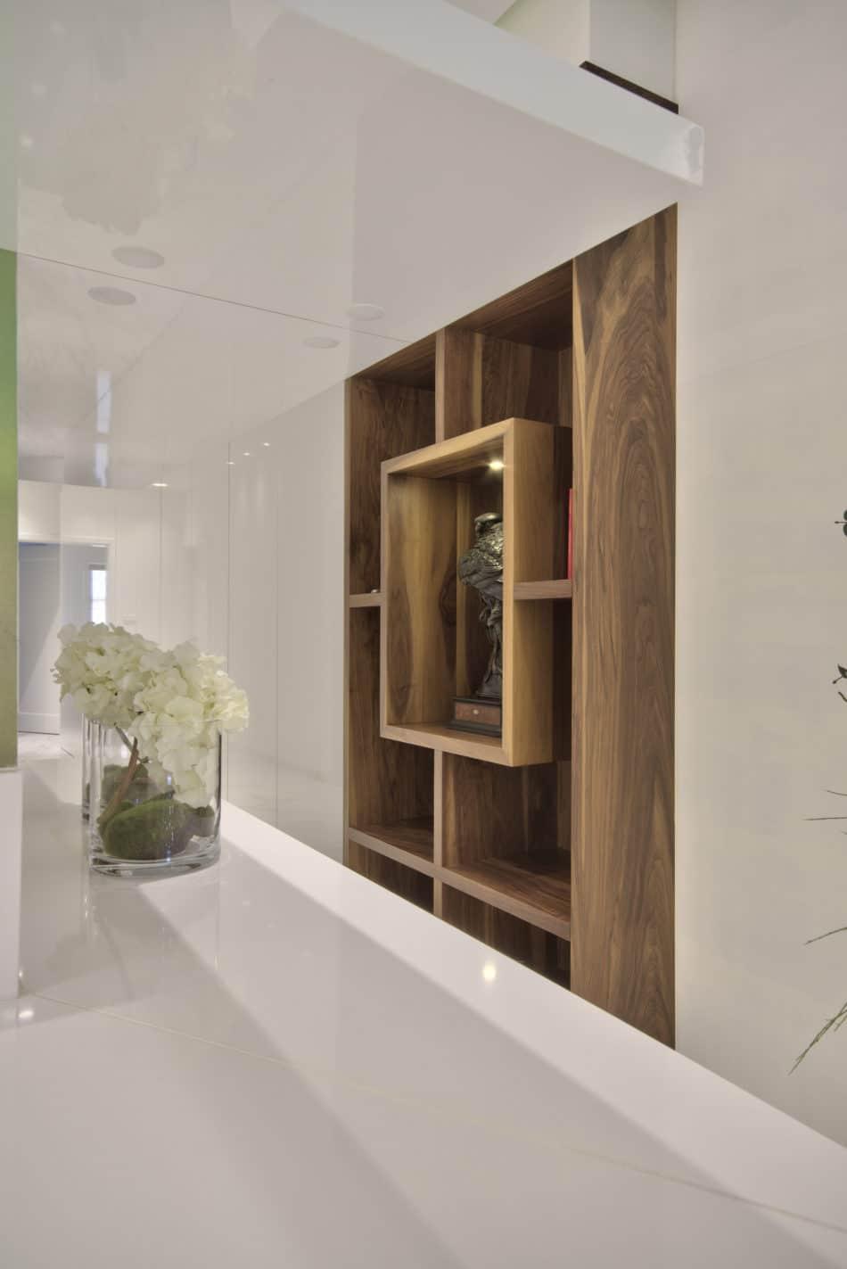 Custom furniture – library, storage units
