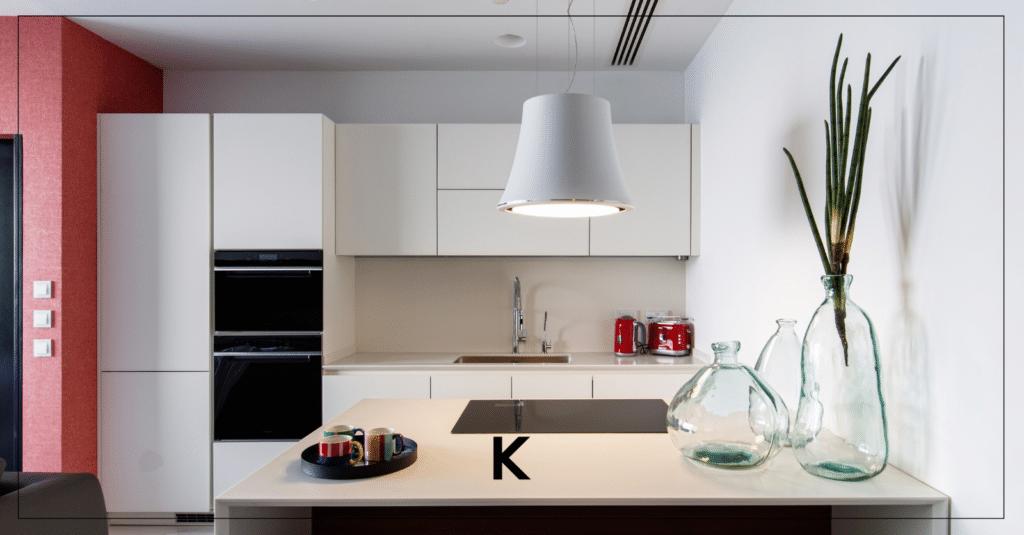 Contemporary Kitchen design luxury